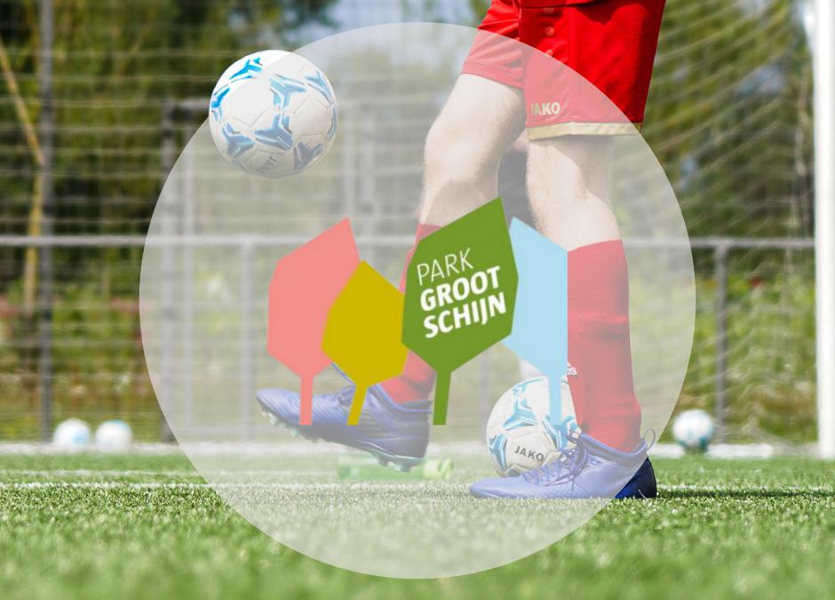 Voetbalstages op het Park Groot Schijn in Deurne